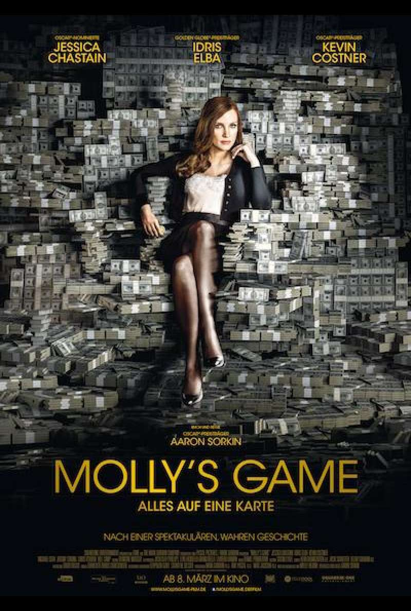 Molly's Game - Filmplakat