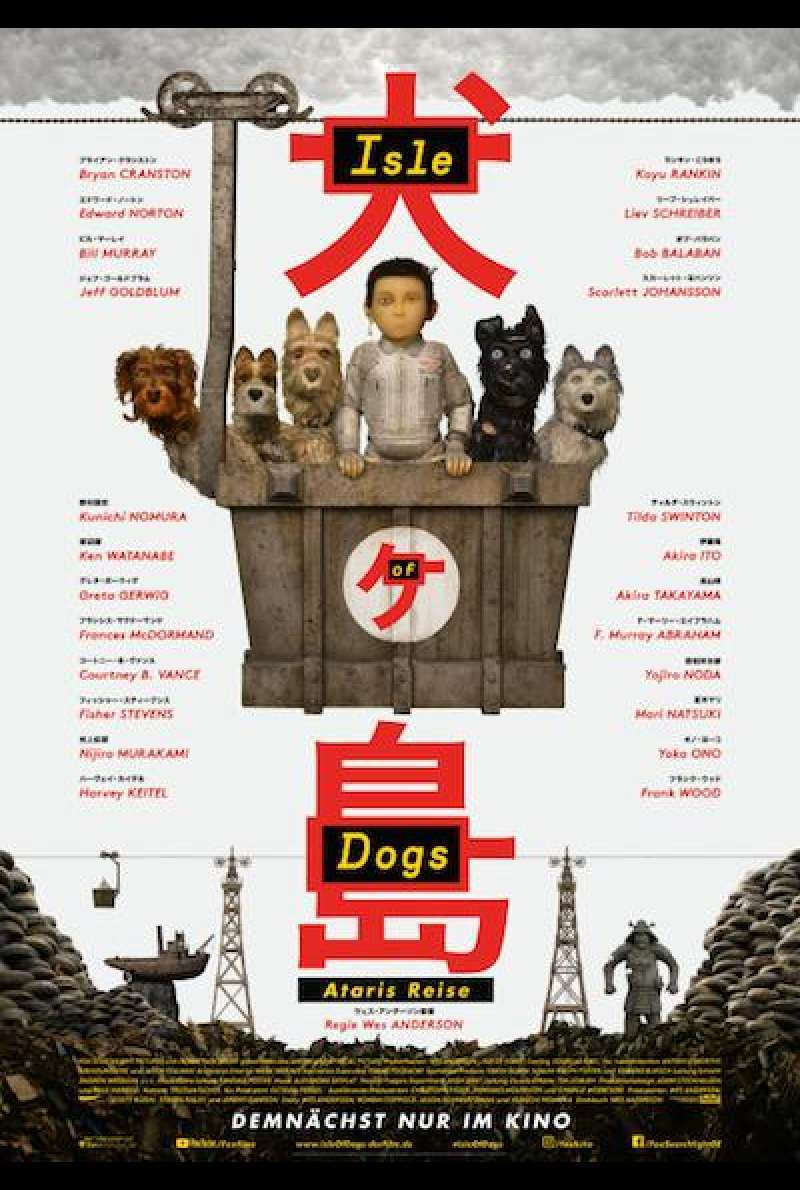 Isle of Dogs - Ataris Reise - Filmplakat