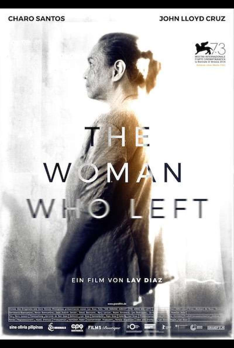 The Woman Who Left - Filmplakat