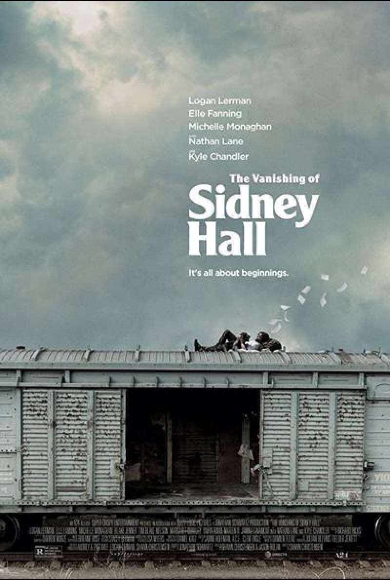The Vanishing of Sidney Hall von Shawn Christensen - Filmplakat (US)