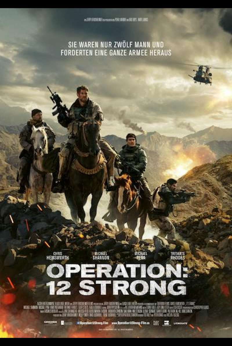 Operation: 12 Strong - Filmplakat