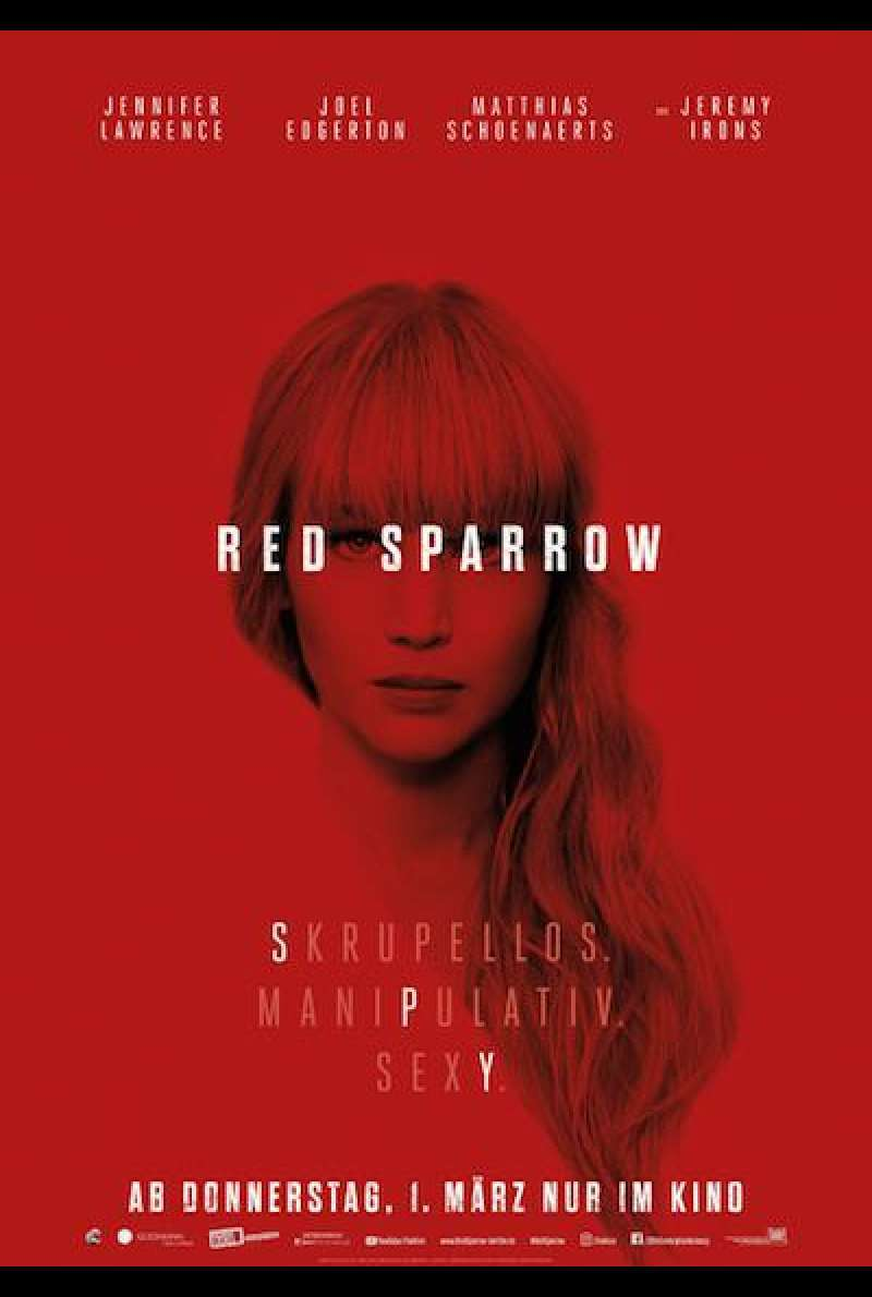 Red Sparrow - Filmplakat