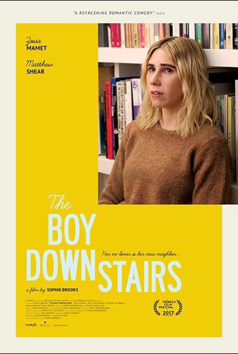 The Boy Downstairs von Sophie Brooks - Filmplakat (US)