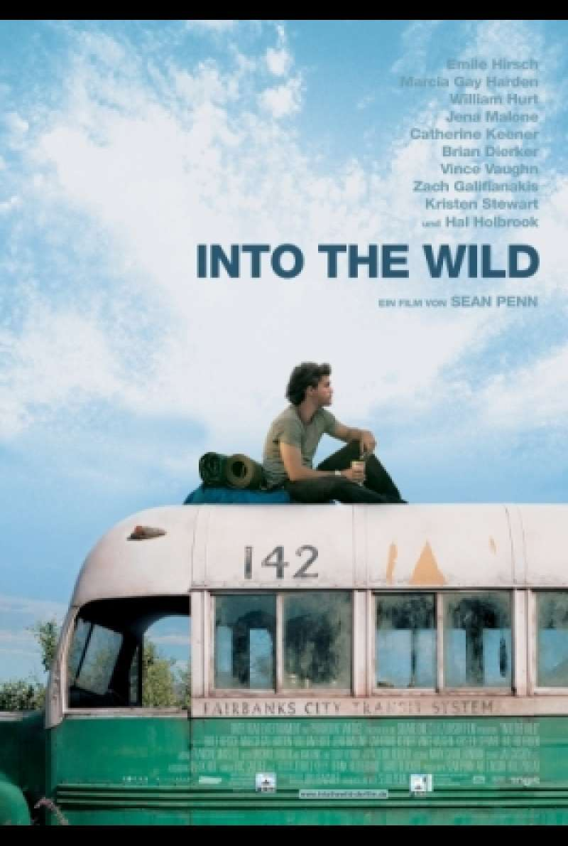 Filmplakat zu In die Wildnis / Into the Wild von Sean Penn