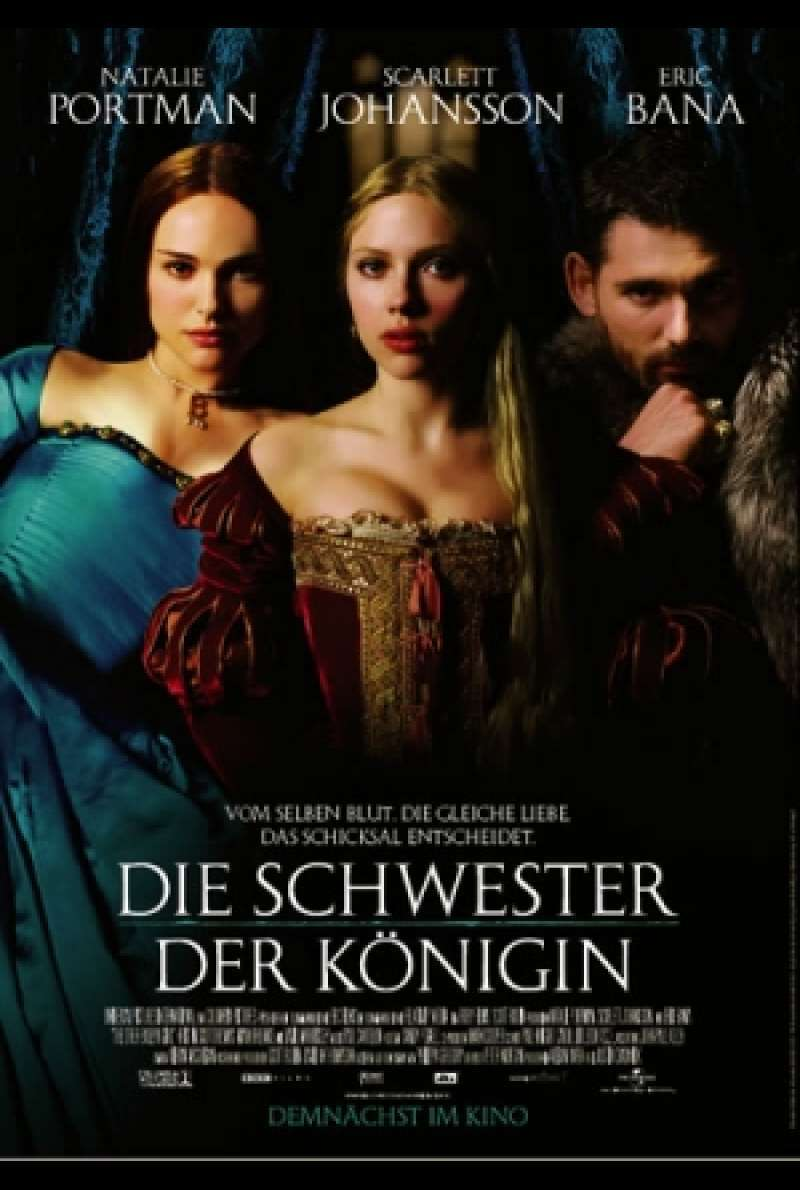 Die Schwester der Königin / The Other Boleyn Girl - Filmplakat