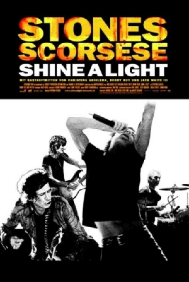 Shine A Light - Filmplakat