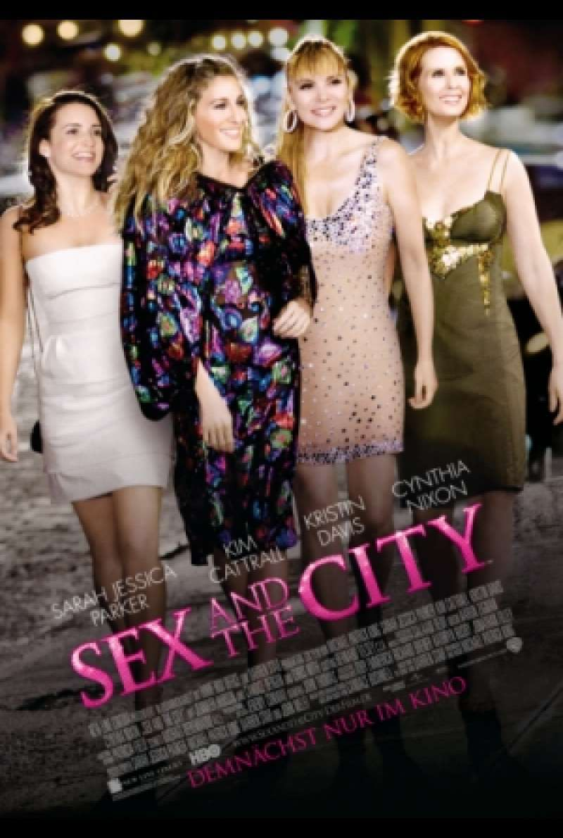 Filmplakat zu Sex and the City / Sex and the City: The Movie von Michael Patrick King