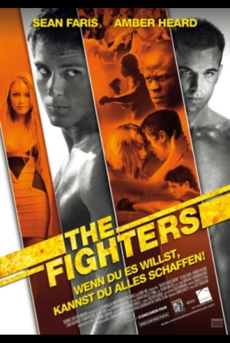 The Fighters / Never Back Down - Filmplakat