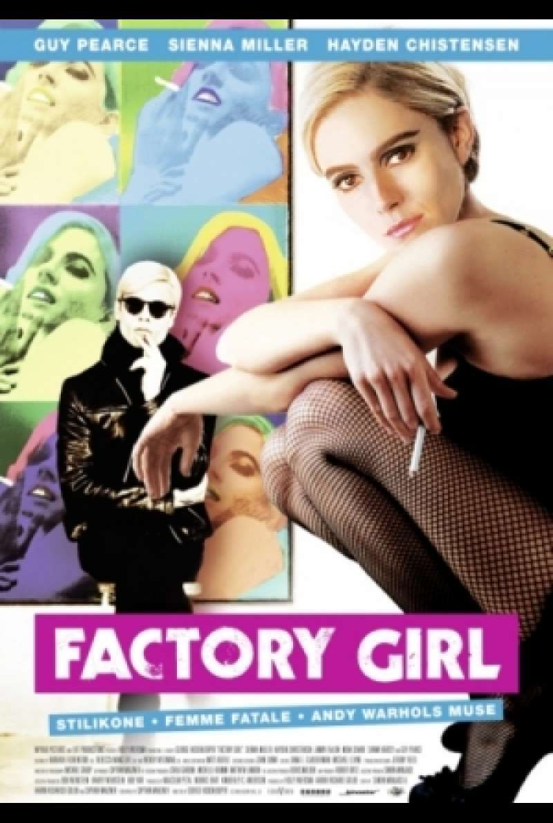 Factory Girl - Filmplakat