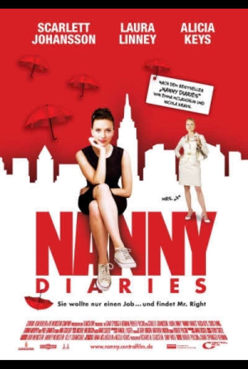 Filmplakat zu Nanny Diaries / The Nanny Diaries von Shari Springer Berman, Robert Pulcini