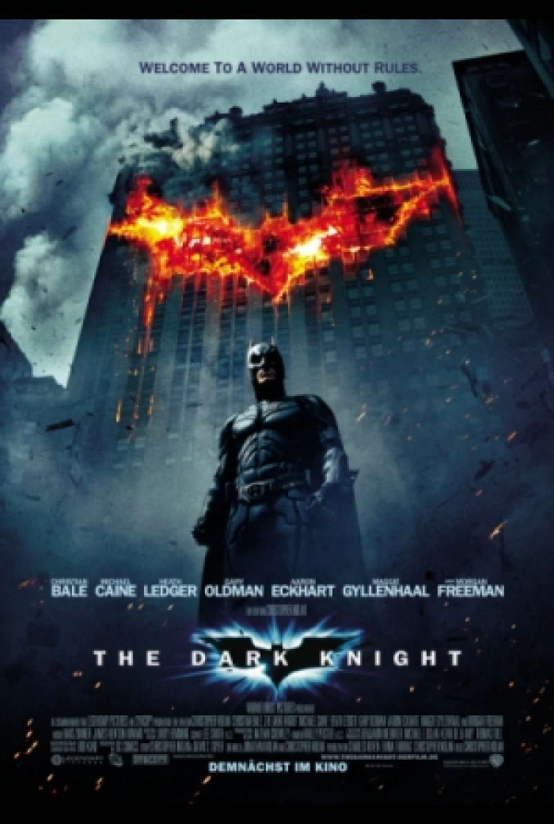 Filmplakat zu The Dark Knight von Christopher Nolan