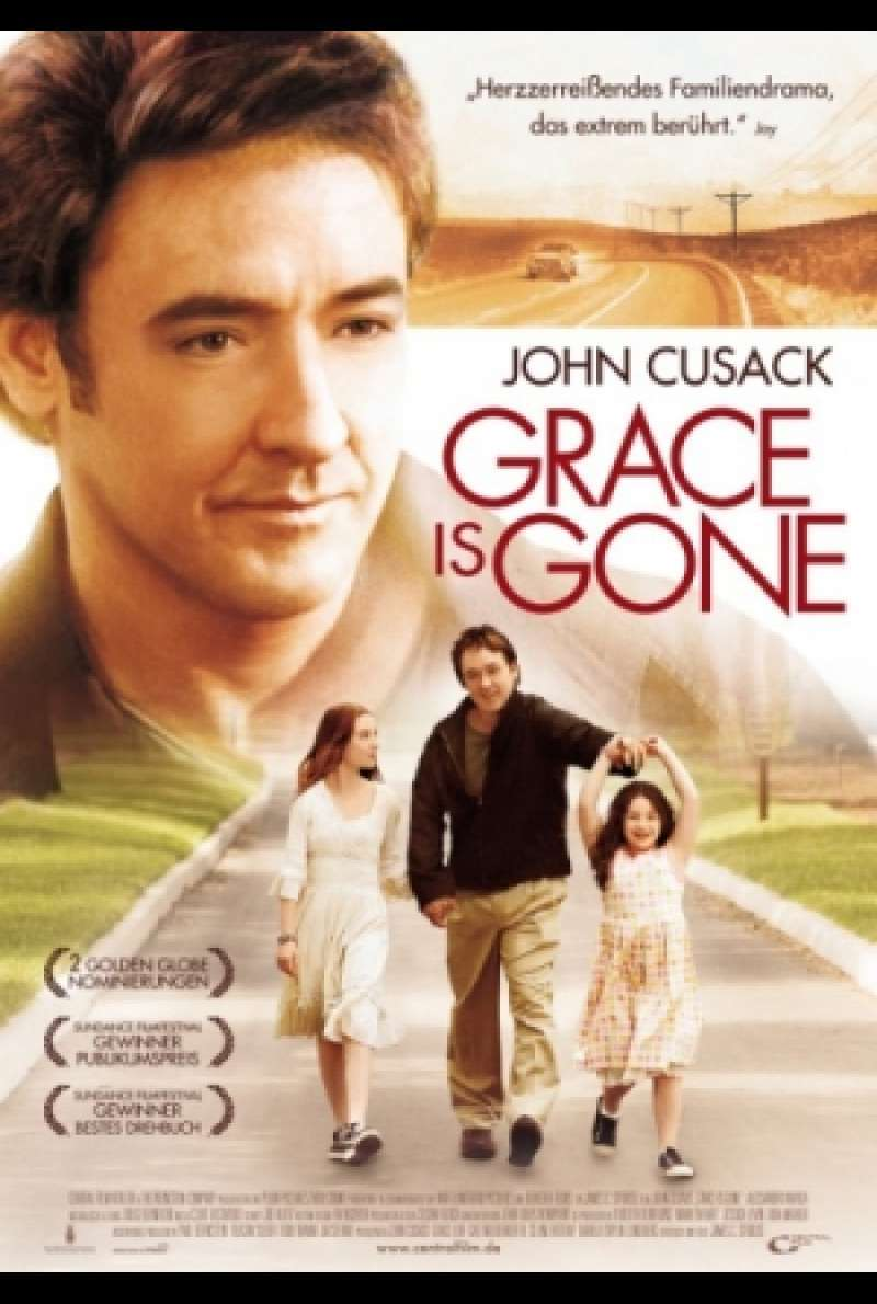 Filmplakat zu Grace Is Gone von James C. Strouse