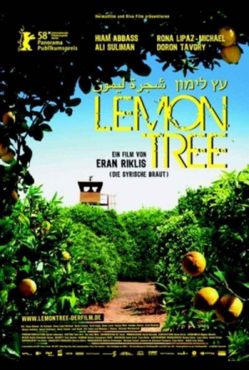 Lemon Tree - Filmplakat