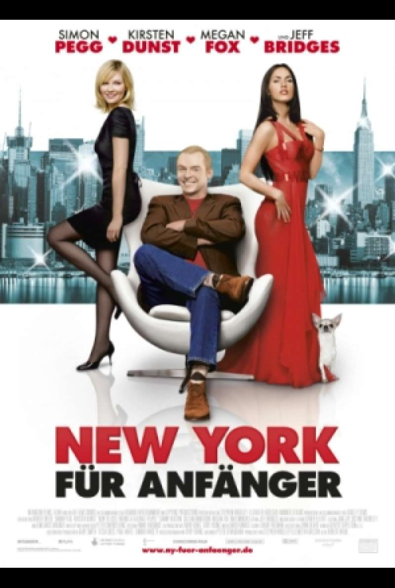 Filmplakat zu New York für Anfänger / How to Lose Friends & Alienate People von Robert B. Weide