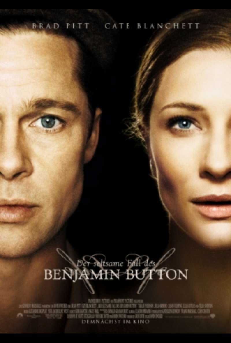 Filmplakat zu Der seltsame Fall des Benjamin Button / The Curious Case of Benjamin Button von David Fincher