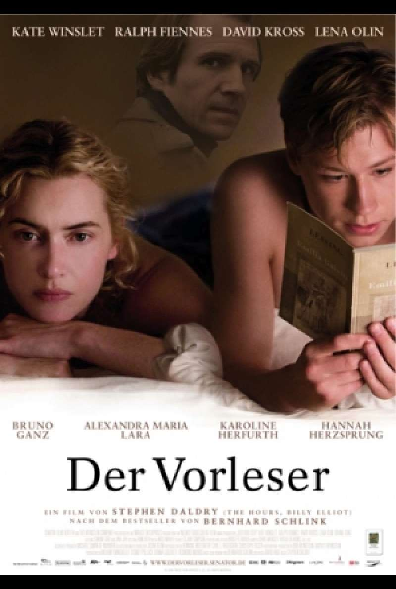 Der Vorleser / The Reader - Filmplakat