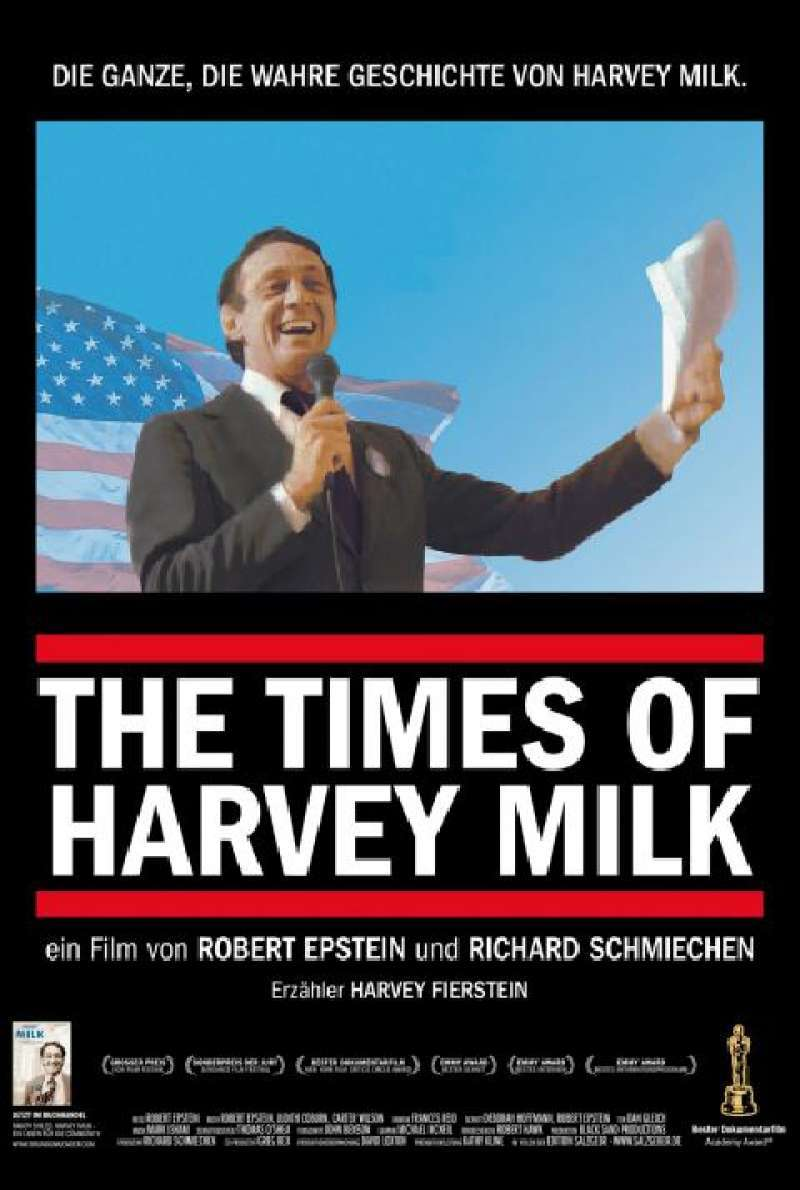 The Times of Harvey Milk - Filmplakat