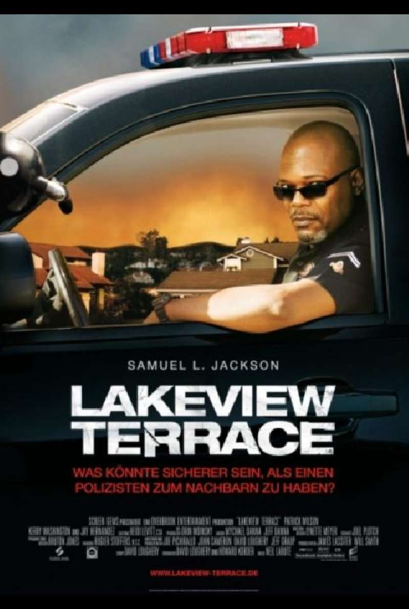Lakeview Terrace - Filmplakat