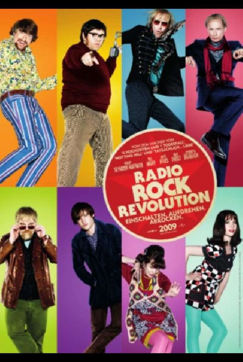 Radio Rock Revolution - Filmplakat