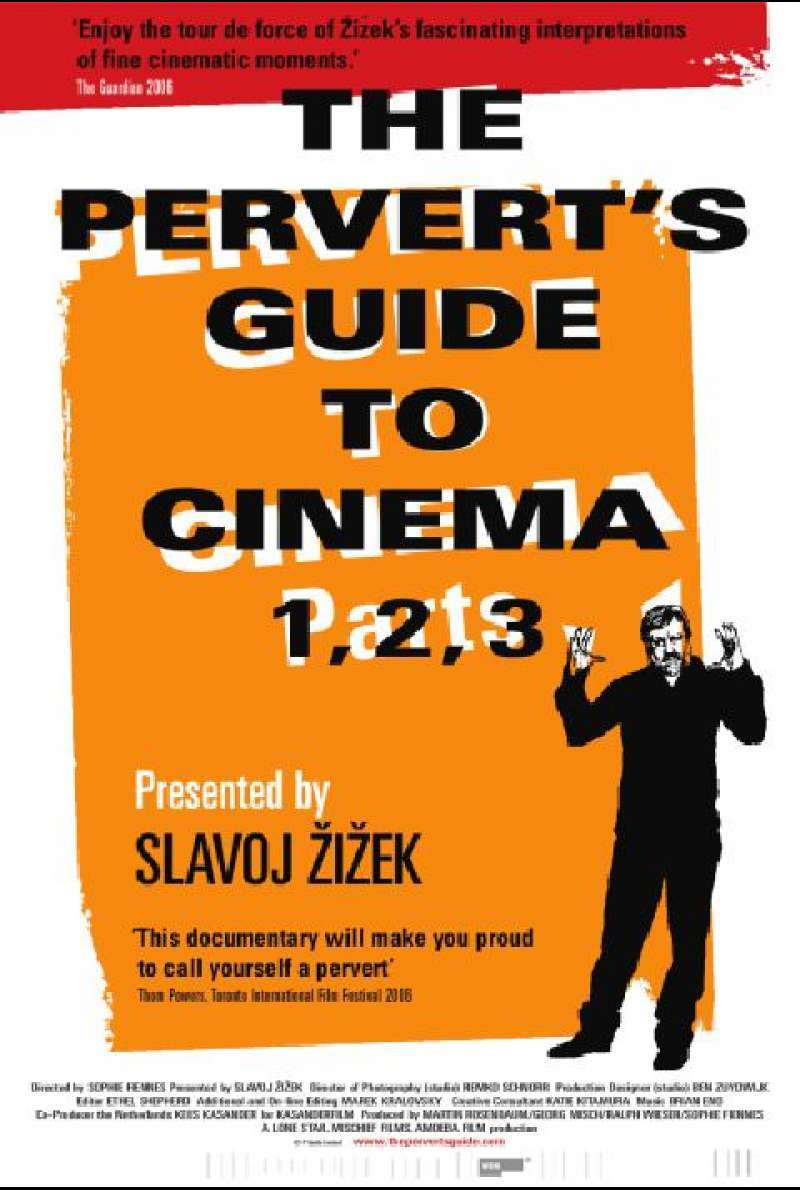 The Pervert's Guide to Cinema - Englisches Filmplakat
