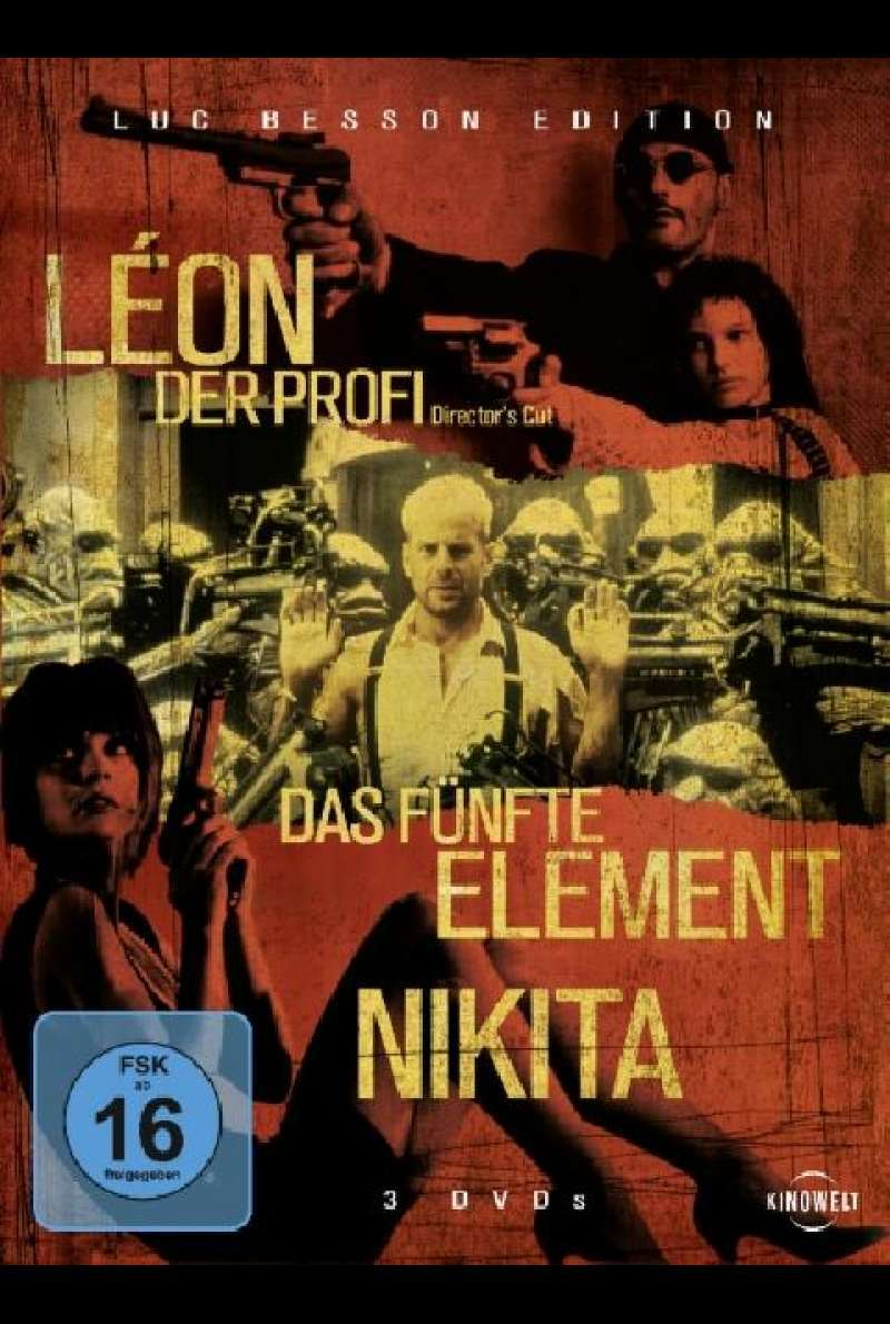 Luc Besson Edition - DVD-Cover