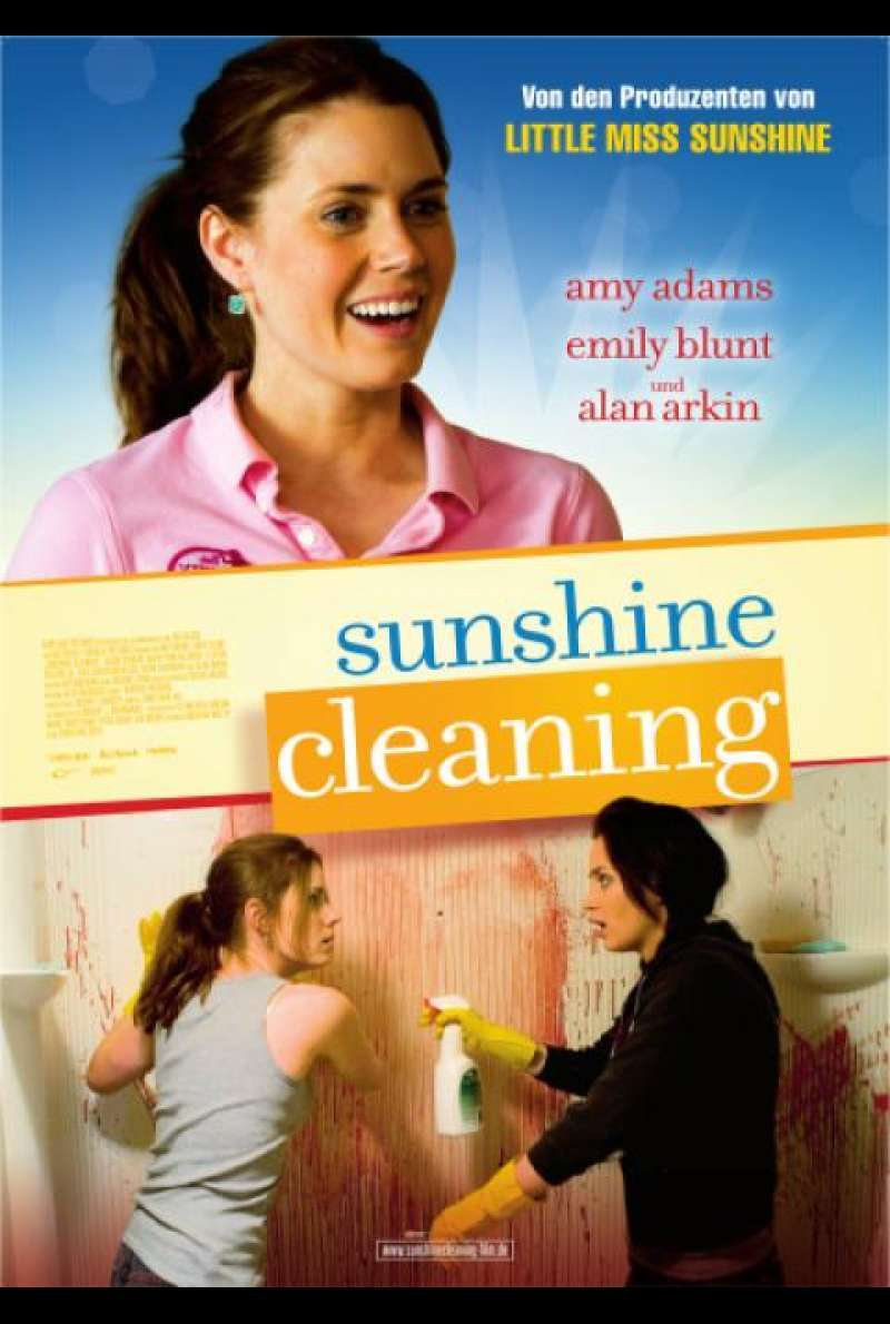Sunshine Cleaning - Filmplakat