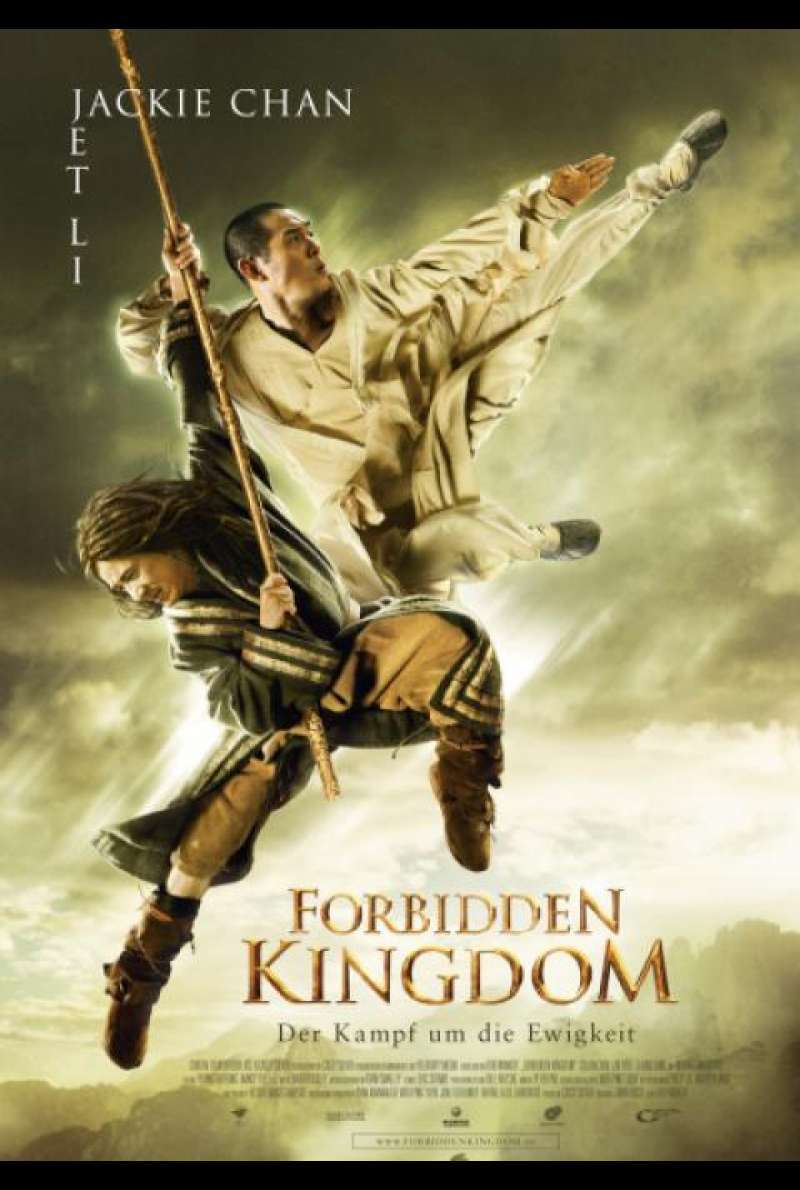The Forbidden Kingdom - Filmplakat