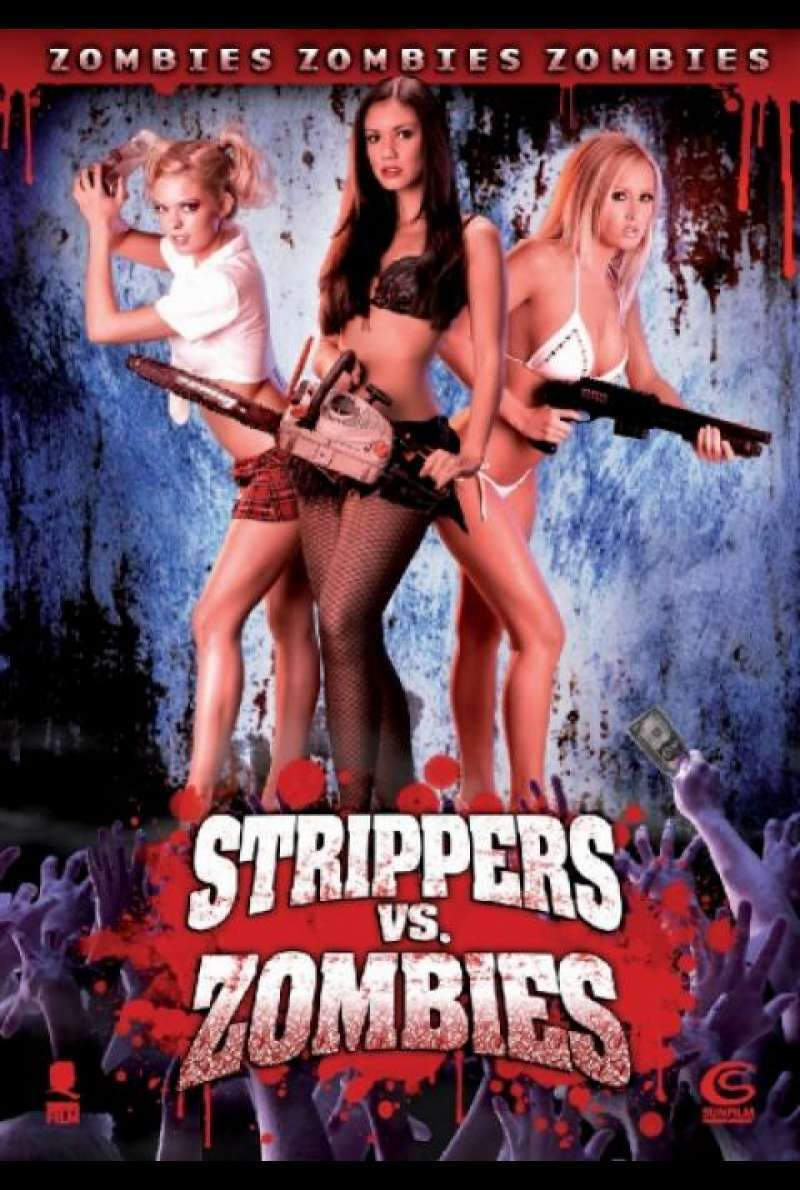 Strippers vs. Zombies - DVD-Cover