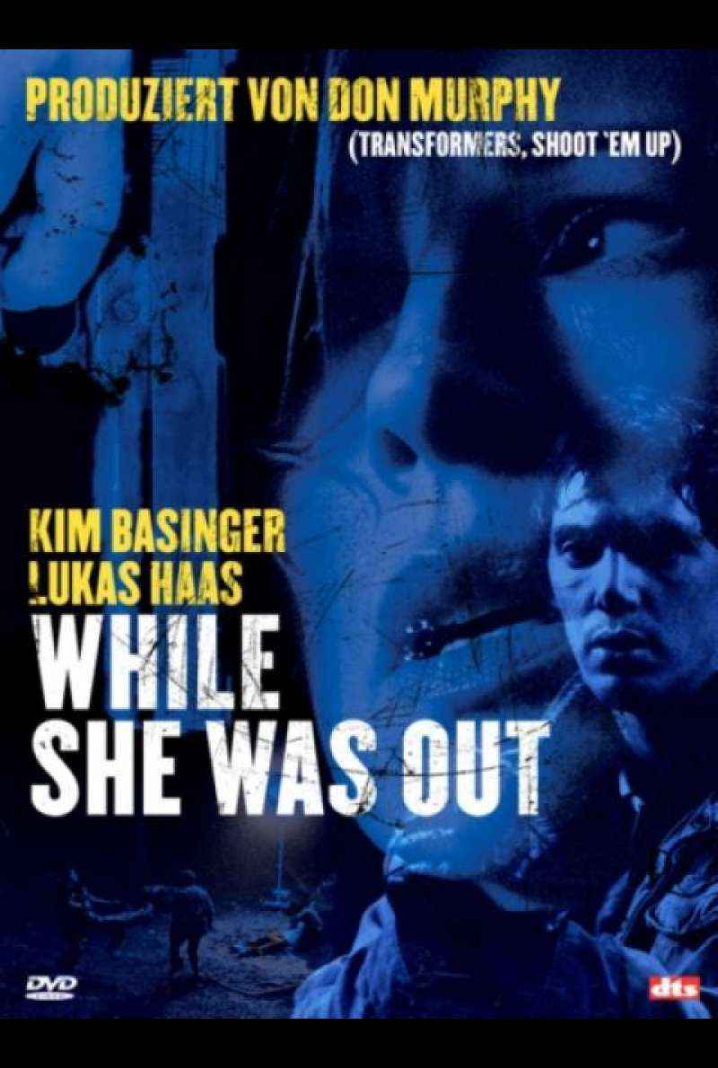 While She Was Out - DVD-Cover