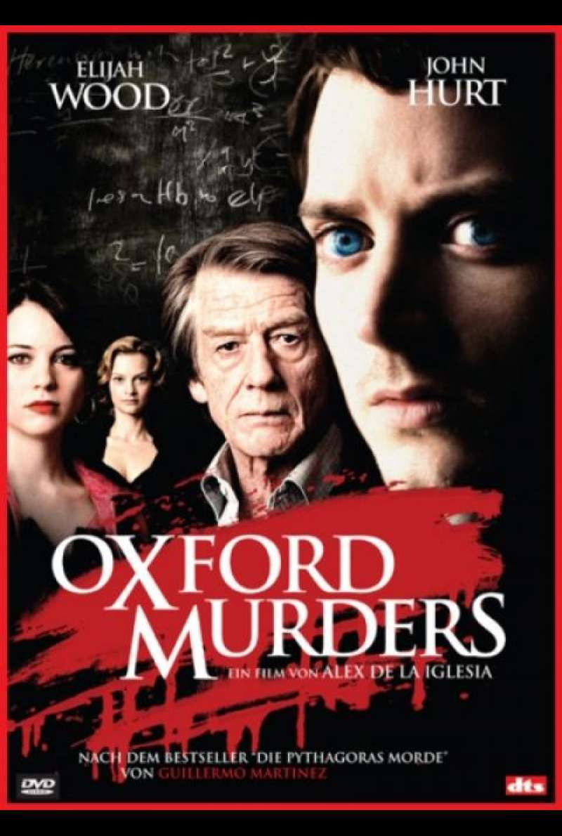 The Oxford Murders - DVD-Cover