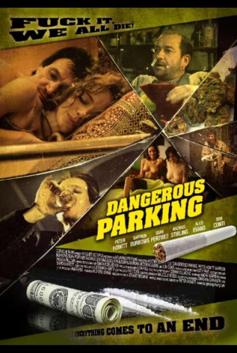 Dangerous Parking - DVD-Cover