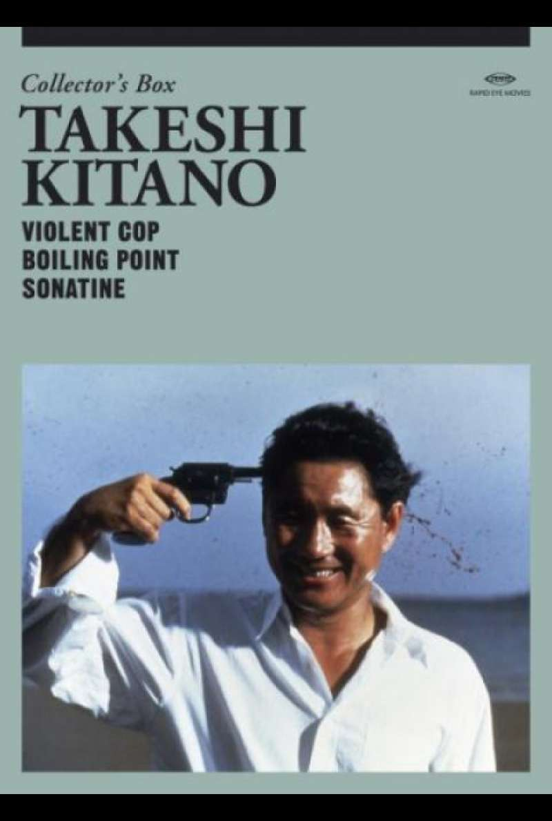 Takeshi Kitano Collector`s Box - DVD-Cover
