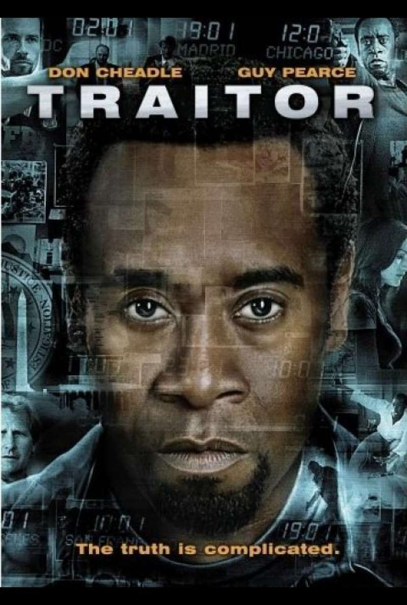 Traitor - DVD-Cover