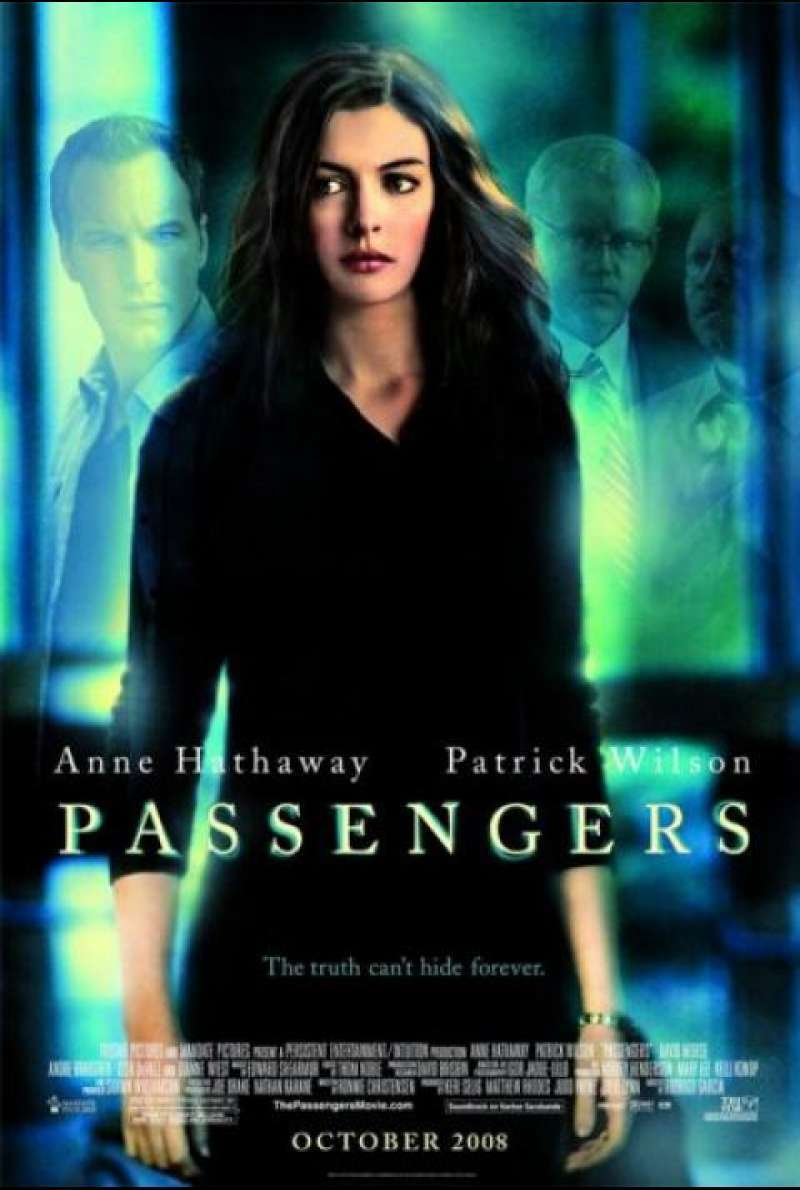 Passengers - DVD-Cover