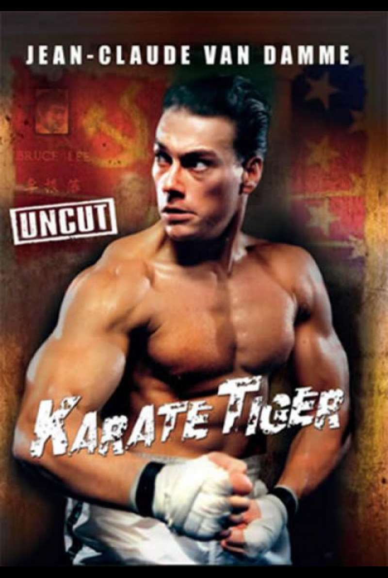 Karate Tiger - DVD-Cover