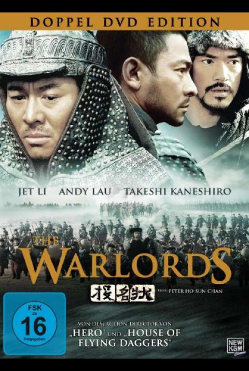 The Warlords - DVD-Cover