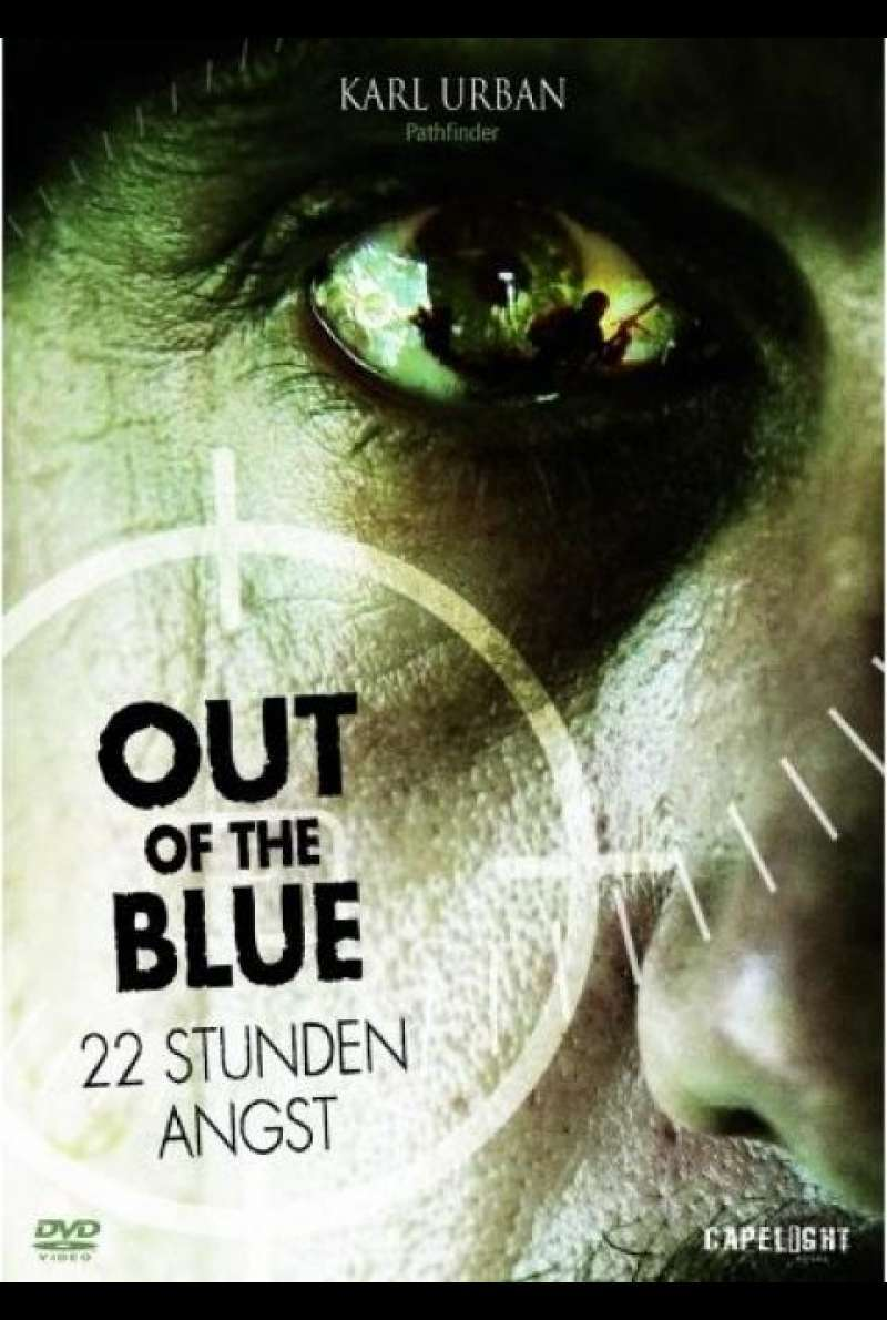 Out Of The Blue - 22 Stunden Angst - DVD-Cover