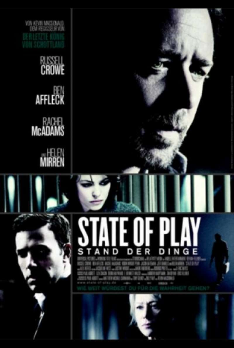 state of play – stand der dinge