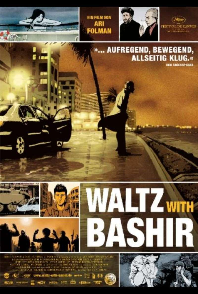 Waltz With Bashir - DVD-Cover