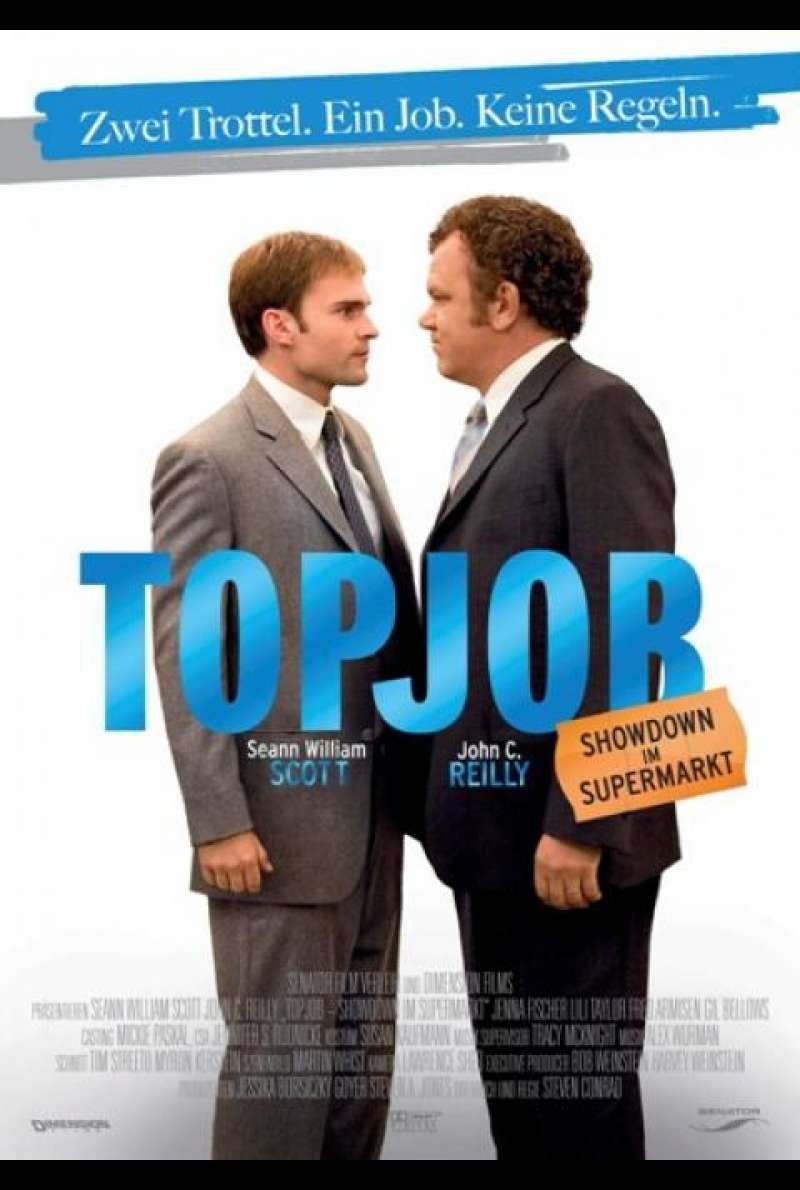 Topjob - Showdown im Supermarkt - Filmplakat