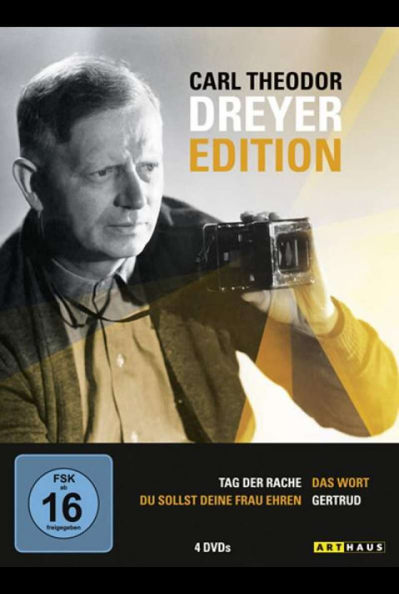 Carl Theodor Dreyer Edition - DVD-Cover