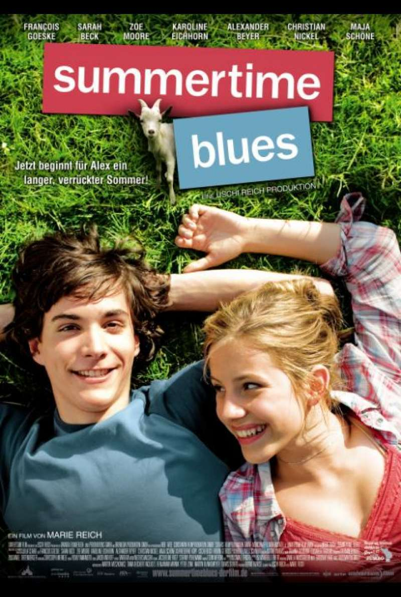 Summertime Blues - Filmplakat