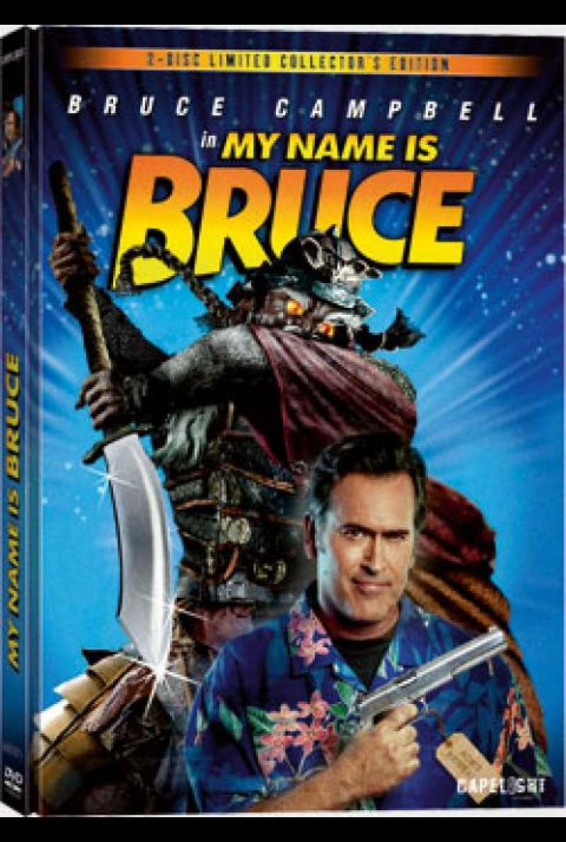 My Name is Bruce - DVD-Cover