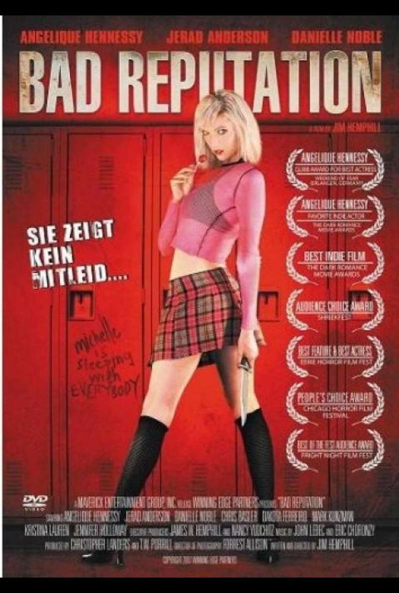 Bad Reputation - DVD-Cover