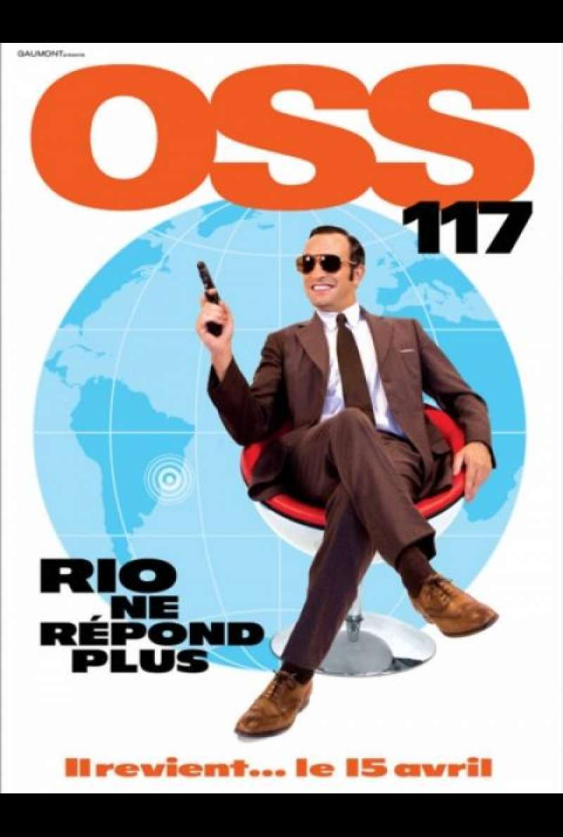 OSS 117 - Lost In Rio - Filmplakat