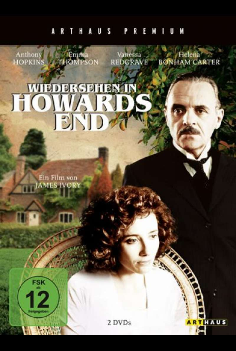 Wiedersehen in Howards End - DVD-Cover