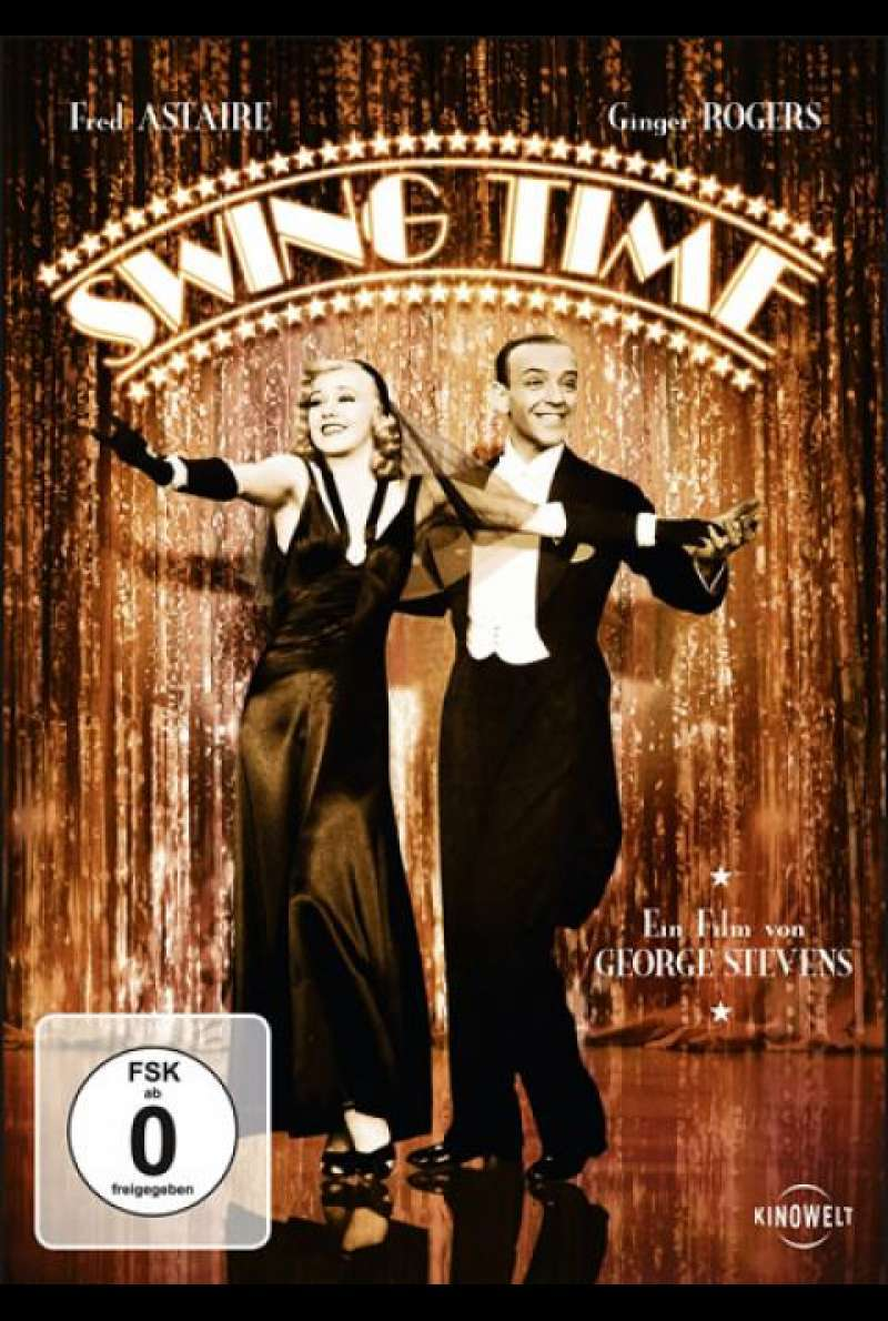 Swing Time - DVD-Cover