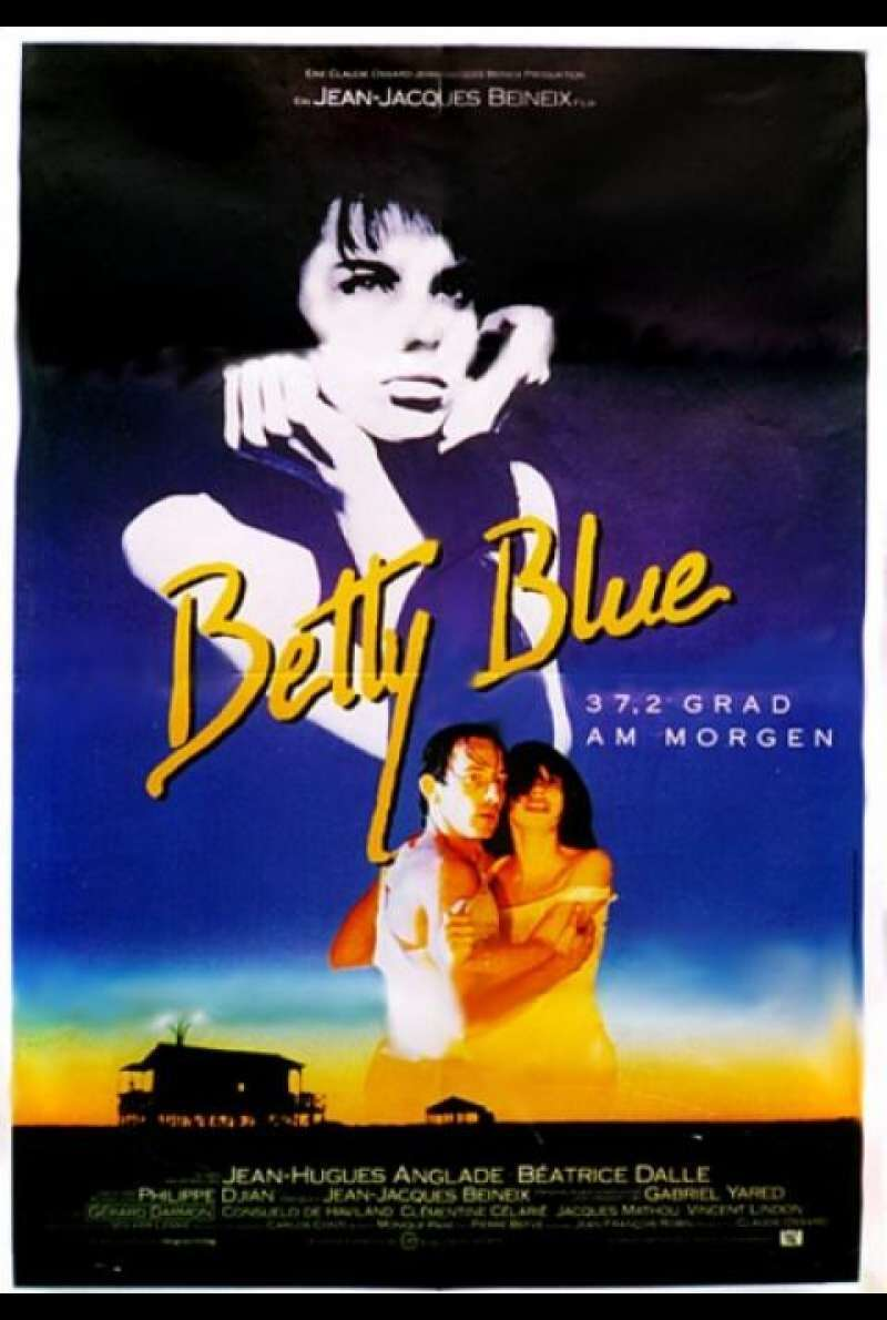 Betty Blue – 37,2 Grad am Morgen - Filmplakat