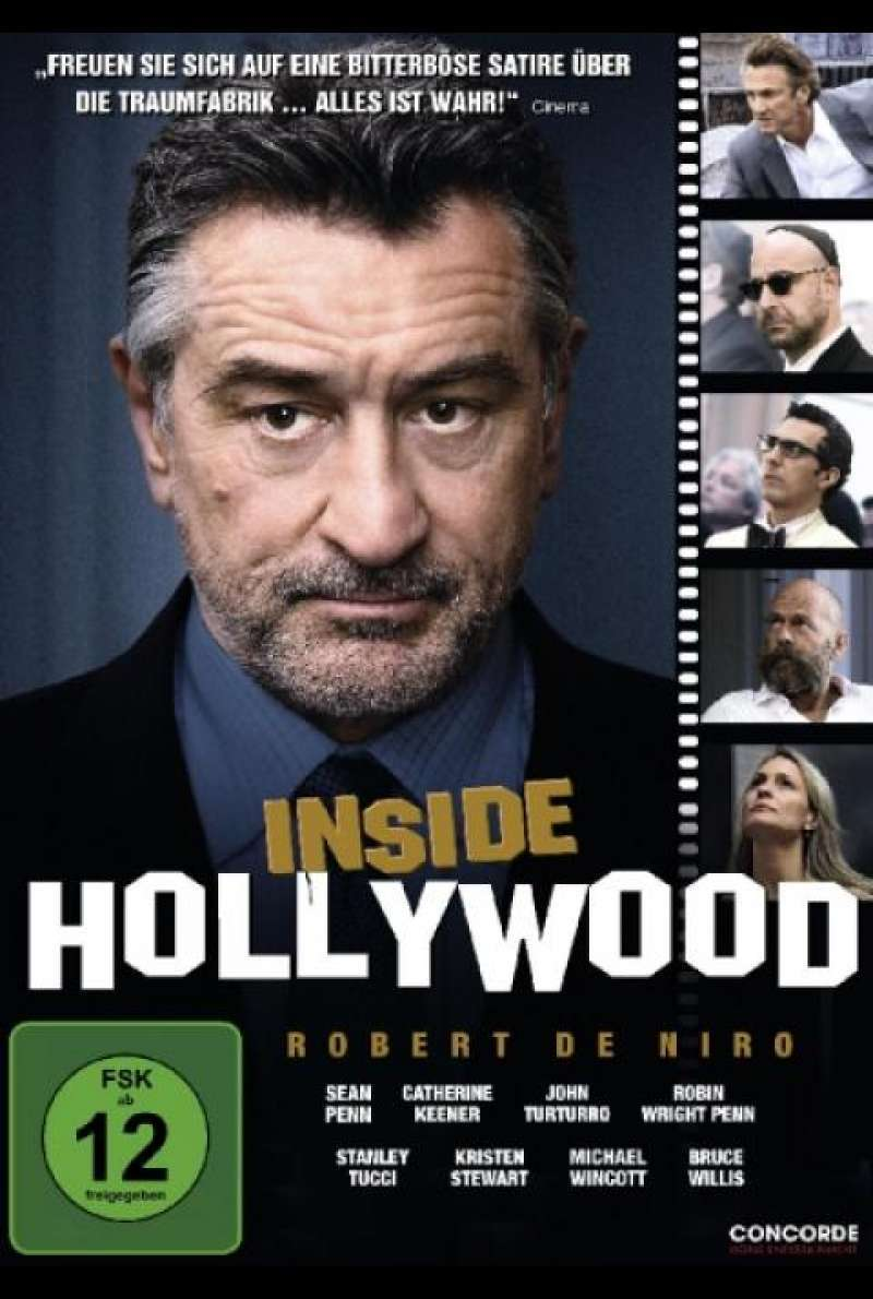 Inside Hollywood - DVD-Cover