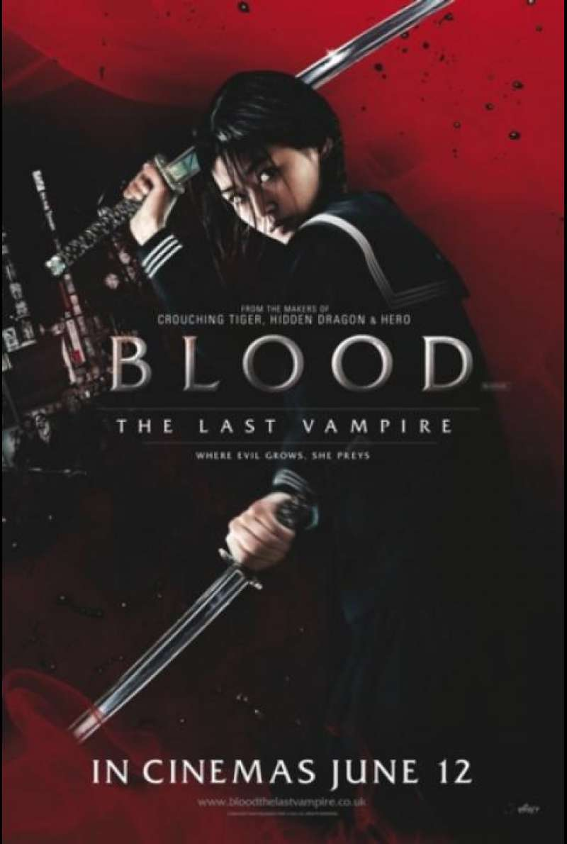 Blood: The Last Vampire - Filmplakat